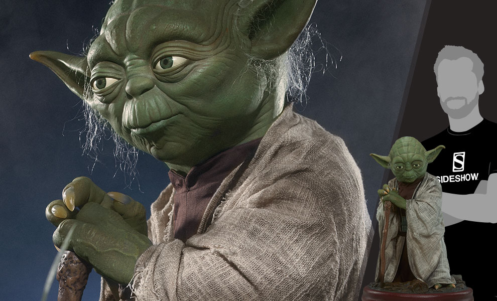 Gallery Feature Image of Yoda Life-Size Figure - Click to open image gallery