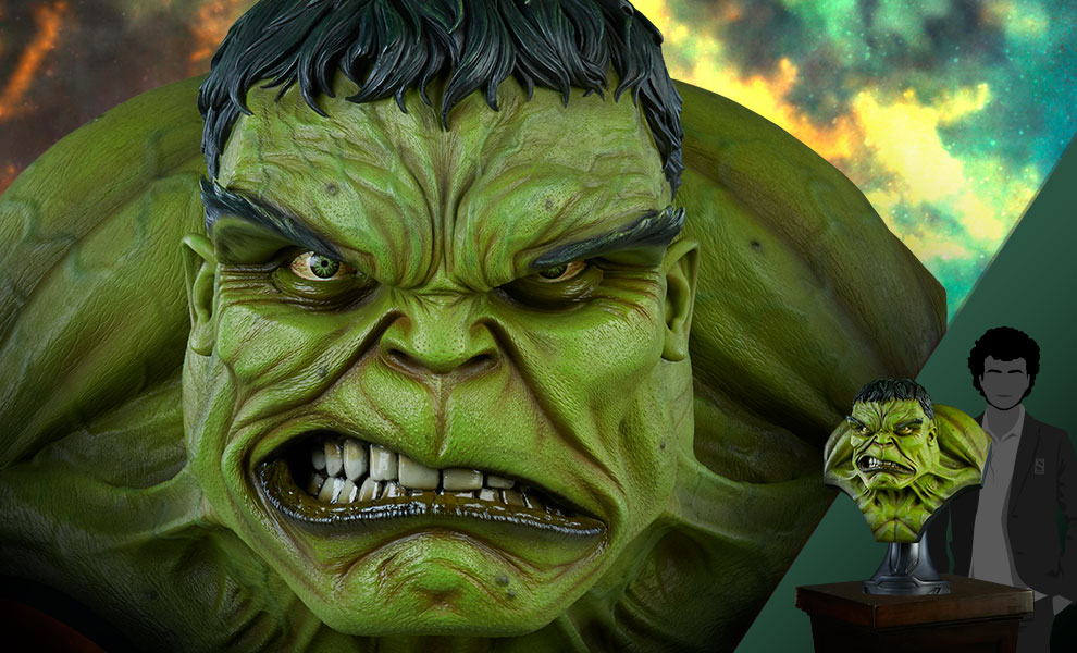 Gallery Feature Image of The Incredible Hulk Life-Size Bust - Click to open image gallery