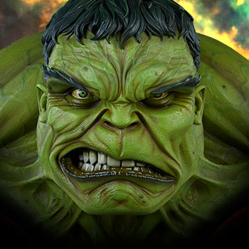 The Incredible Hulk Marvel Life-Size Bust