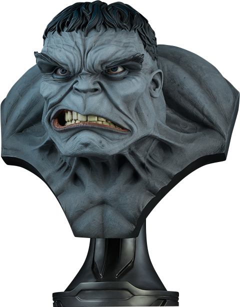 Sideshow Collectibles Gray Hulk Life-Size Bust