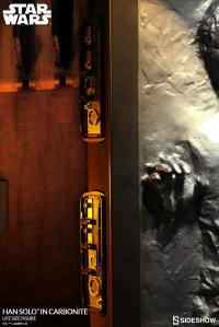 Gallery Image of Han Solo in Carbonite Life-Size Figure