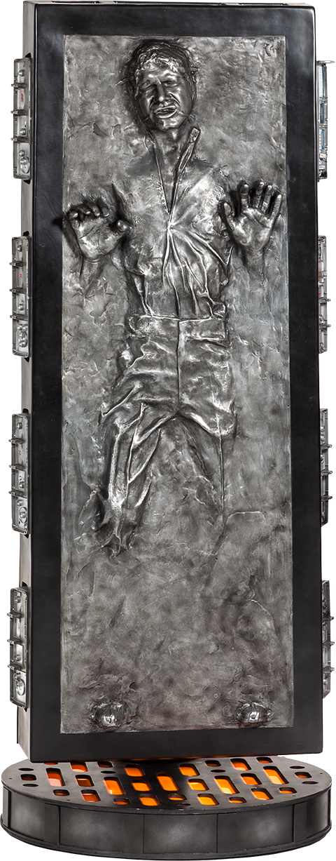 Sideshow Collectibles Han Solo in Carbonite Life-Size Figure
