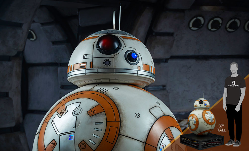 Gallery Feature Image of BB-8 Life-Size Figure - Click to open image gallery