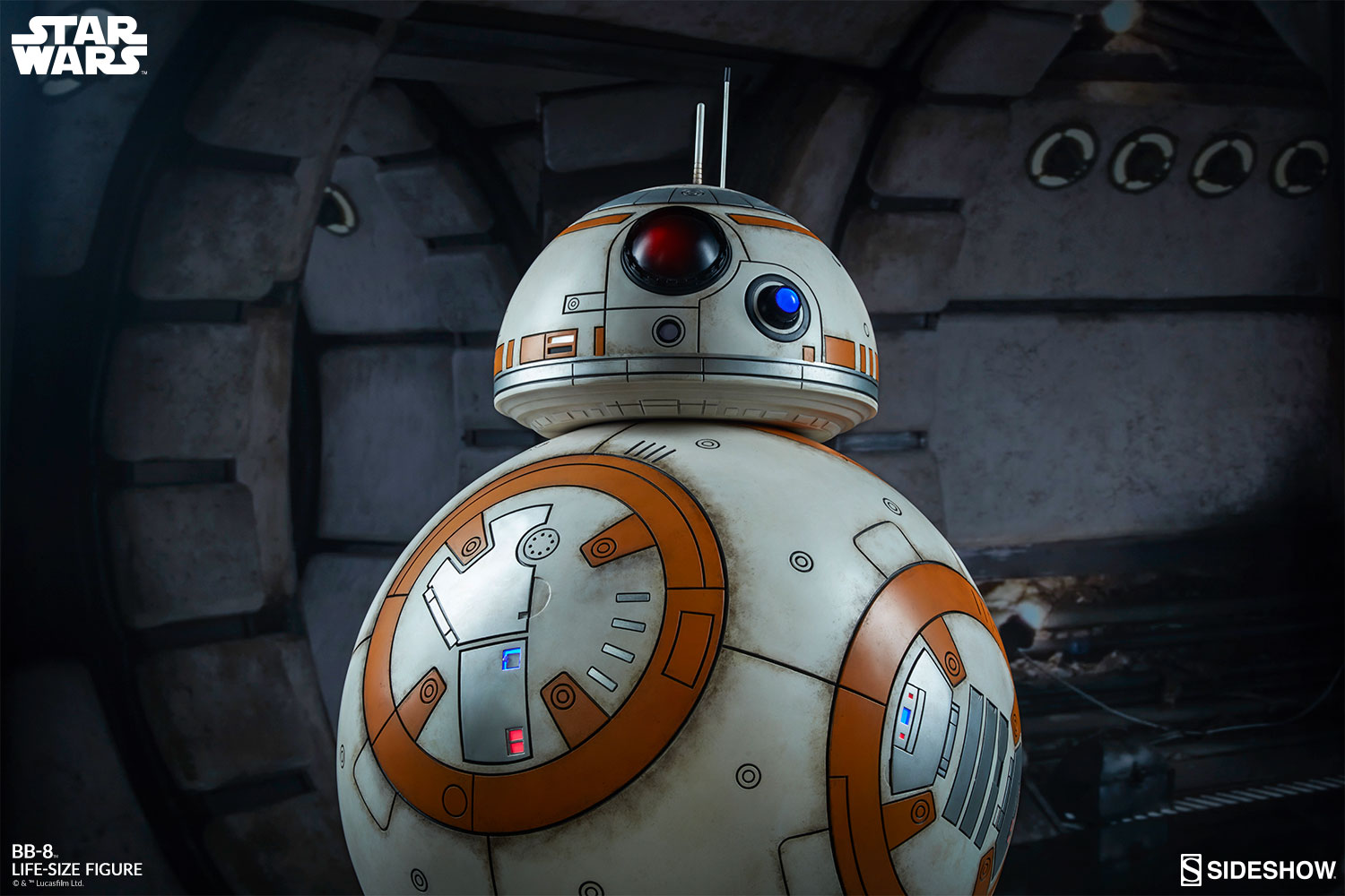 Star Wars Bb 8 Life Size Figure By Sideshow Collectibles Sideshow Collectibles