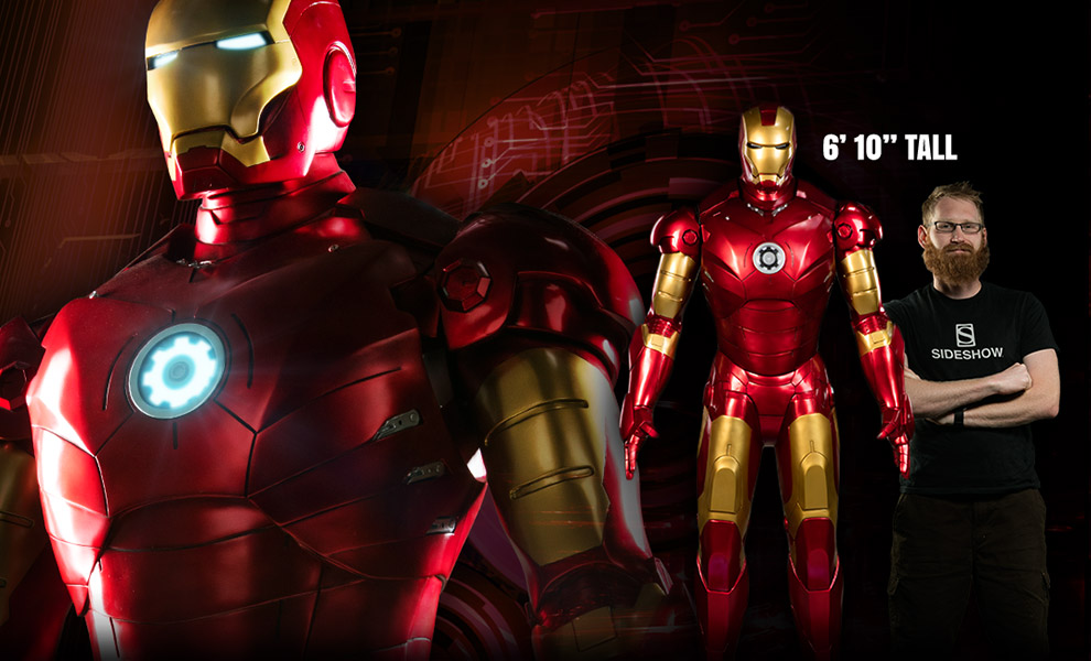 Marvel Iron Man Mark Iii Life Size Figure By Sideshow Collec