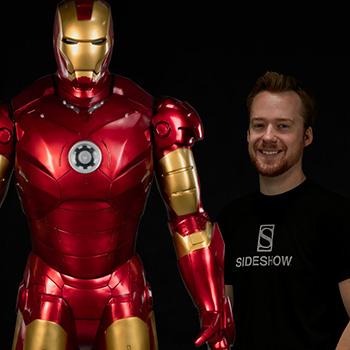 Iron Man Mark III Life-Size Figure