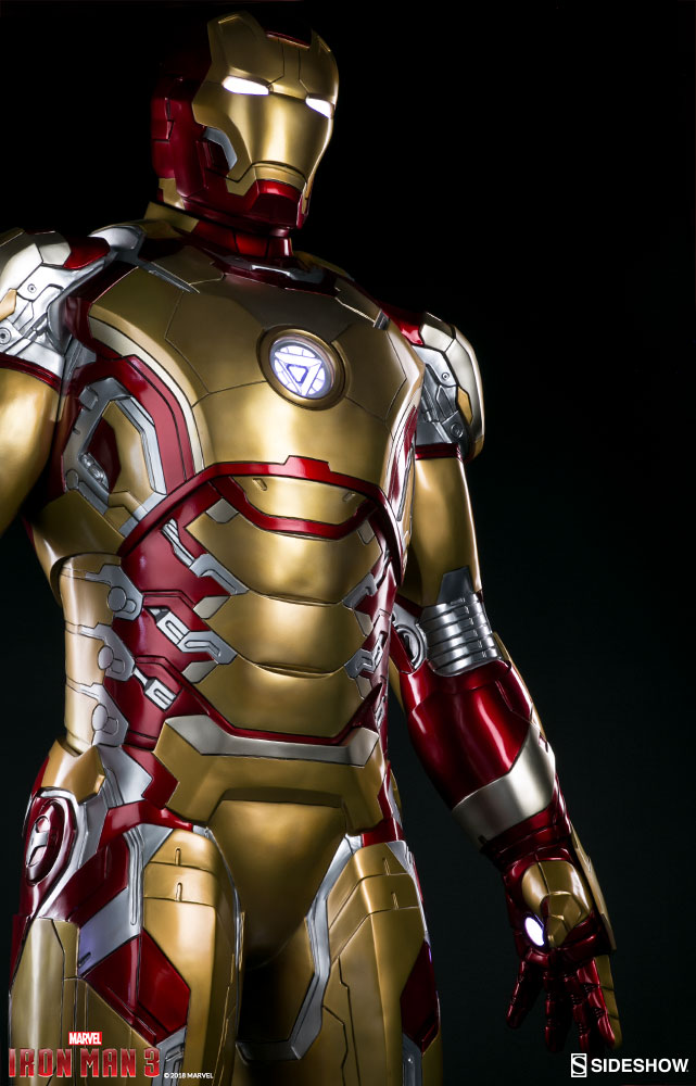Iron Man Mark 42 - Prototype Shown