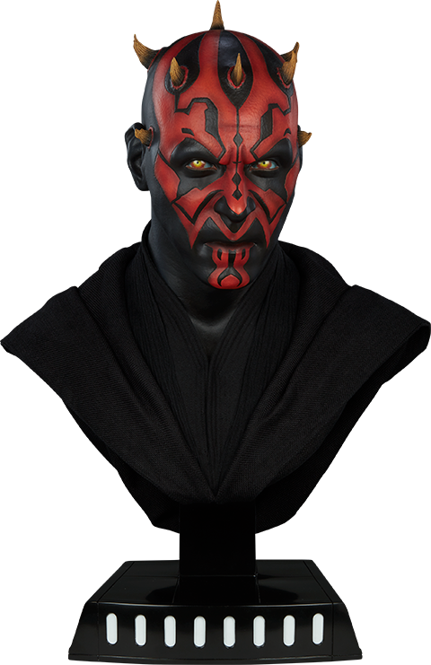Ever Wonder Where That Iconic Bust Of >> Star Wars Darth Maul Life Size Bust By Sideshow Collectibles