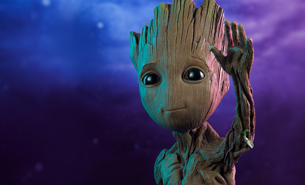 Gallery Feature Image of Baby Groot Maquette - Click to open image gallery