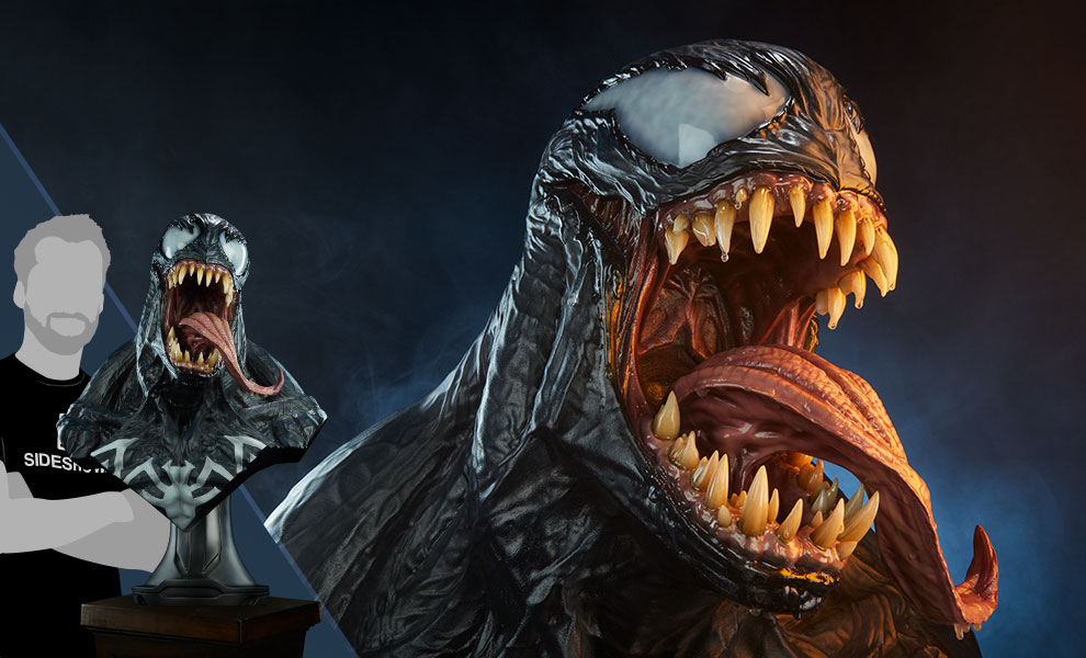 Gallery Feature Image of Venom Life-Size Bust - Click to open image gallery
