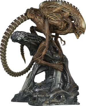 Alien Warrior - Mythos Maquette