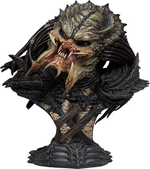Sideshow Collectibles Predator Barbarian Mythos Legendary Scale™ Bust