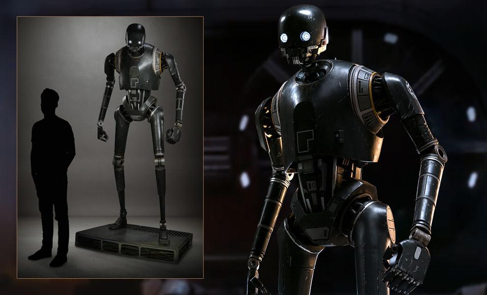 Gallery Feature Image of K-2SO Life-Size Figure - Click to open image gallery