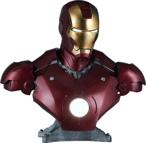 Sideshow Collectibles Iron Man Mark III Life-Size Bust