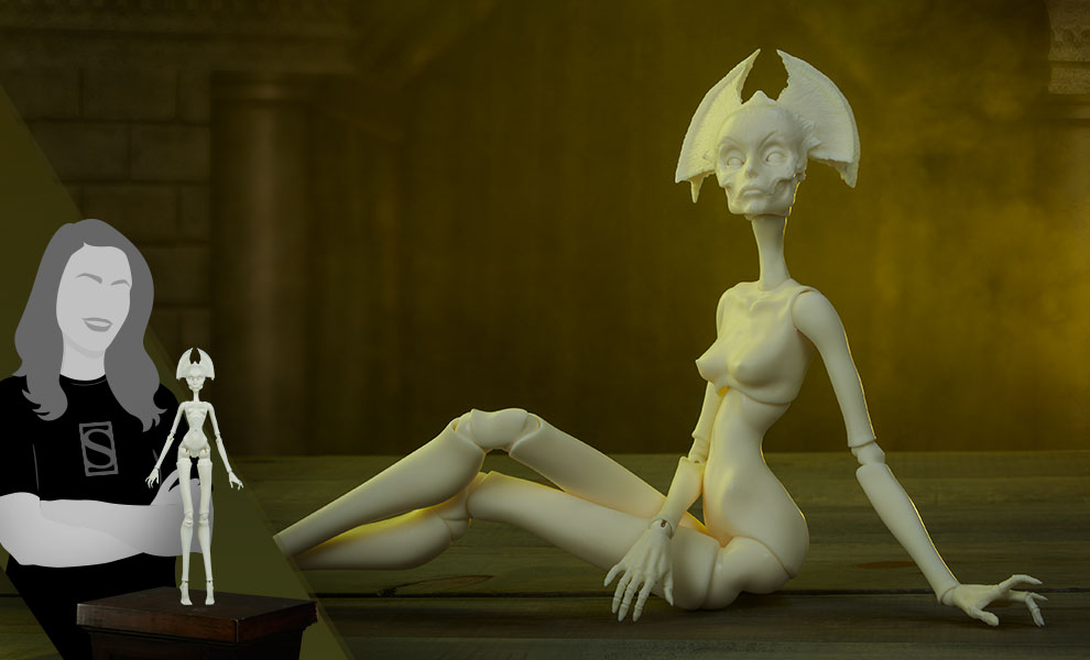 Gallery Feature Image of Muse of Bone: Spector Blank Doll - Click to open image gallery
