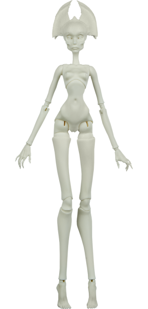 Muse of Bone: Spector Blank Doll