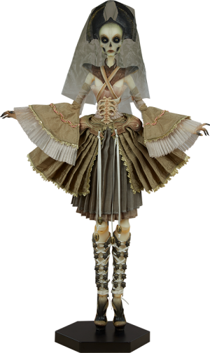 Muse of Bone - Atelier Cryptus Doll