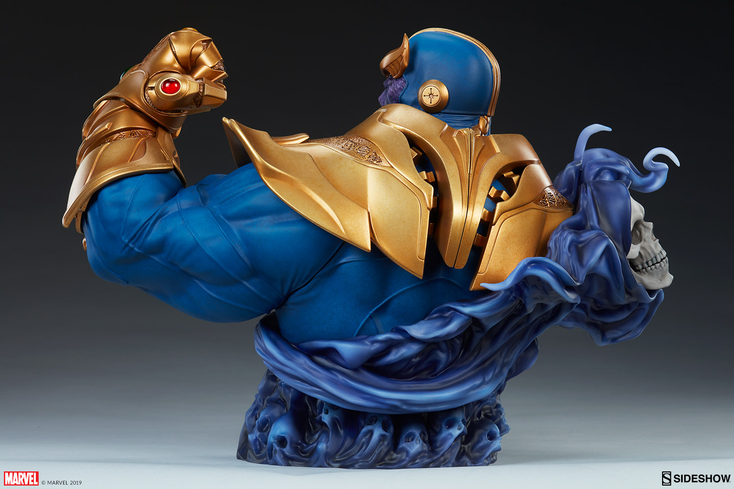 Ever Wonder Where That Iconic Bust Of >> Marvel Thanos Bust By Sideshow Collectibles Sideshow Collectibles