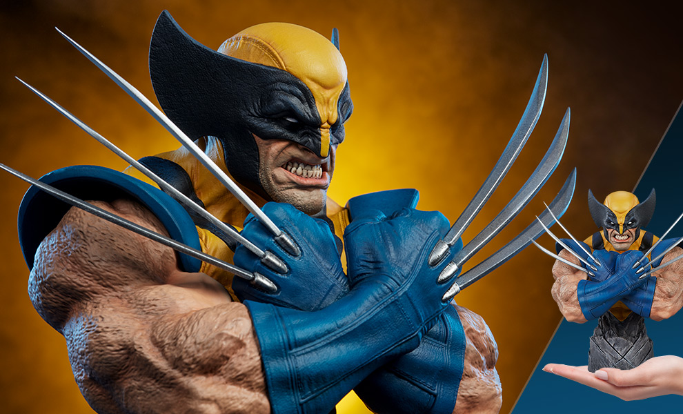 Gallery Feature Image of Wolverine Bust - Click to open image gallery