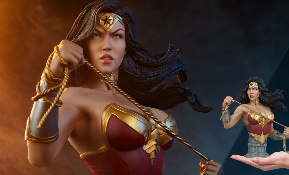 Gallery Feature Image of Wonder Woman Bust - Click to open image gallery