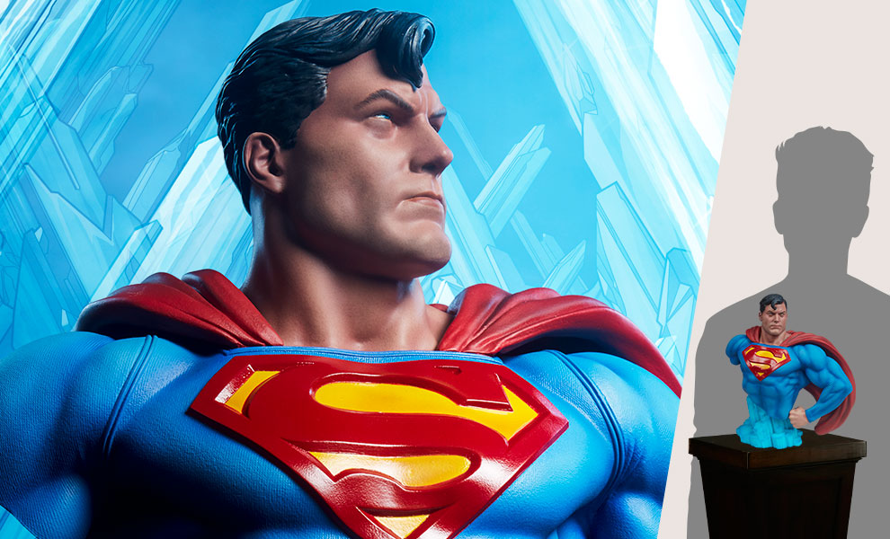 Gallery Feature Image of Superman™ Bust - Click to open image gallery