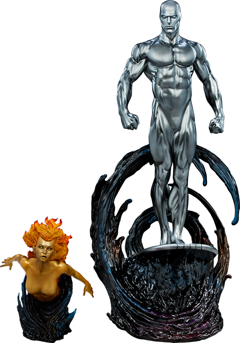 Sideshow Collectibles Silver Surfer Maquette