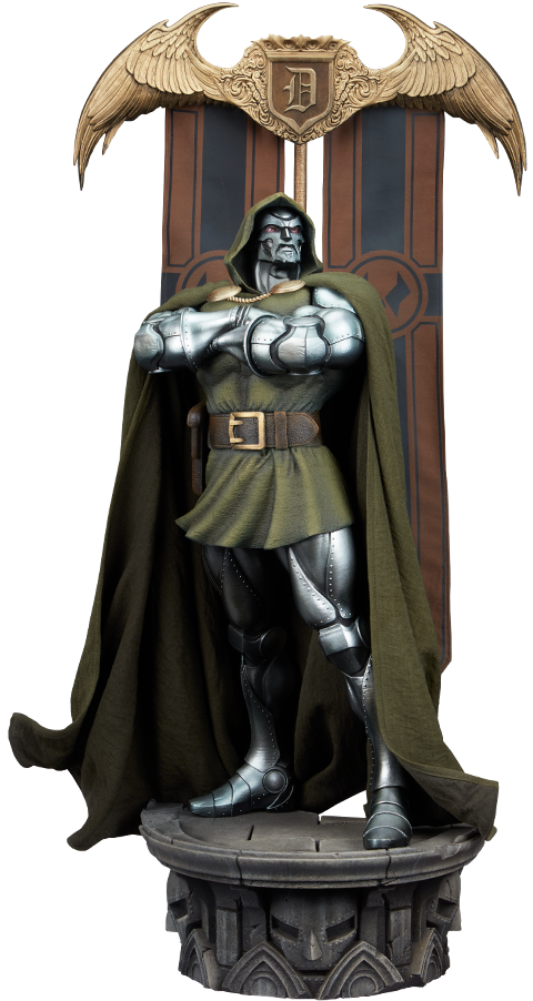 Sideshow Collectibles Doctor Doom Maquette