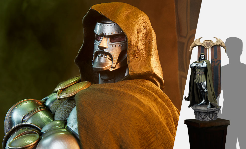 Gallery Feature Image of Doctor Doom Maquette - Click to open image gallery