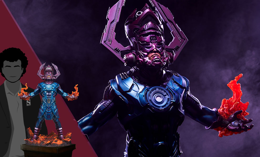 Gallery Feature Image of Galactus Maquette - Click to open image gallery
