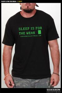 Gallery Image of Sleep is for the Weak T-Shirt Apparel