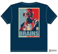 Gallery Image of Brains Patient Zero T-Shirt Apparel