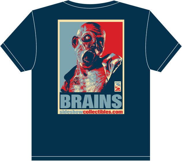 Sideshow Collectibles Brains Patient Zero T-Shirt Apparel