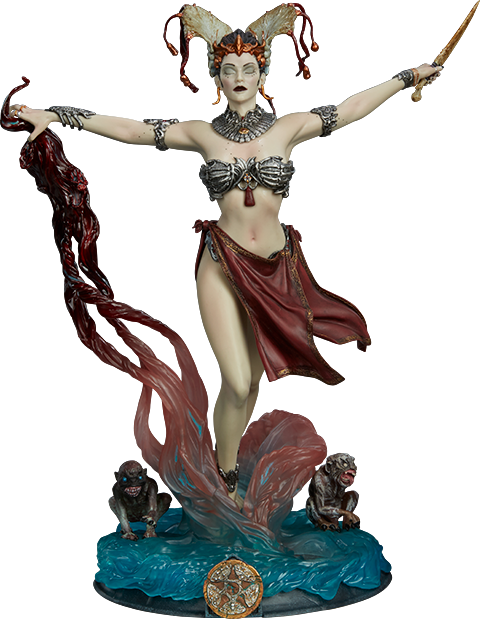 Sideshow Collectibles Gethsemoni - Queens Conjuring Figure