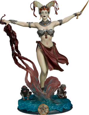 Gethsemoni - Queens Conjuring Figure