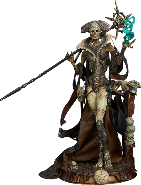 Sideshow Collectibles Xiall - Osteomancers Vision Figure