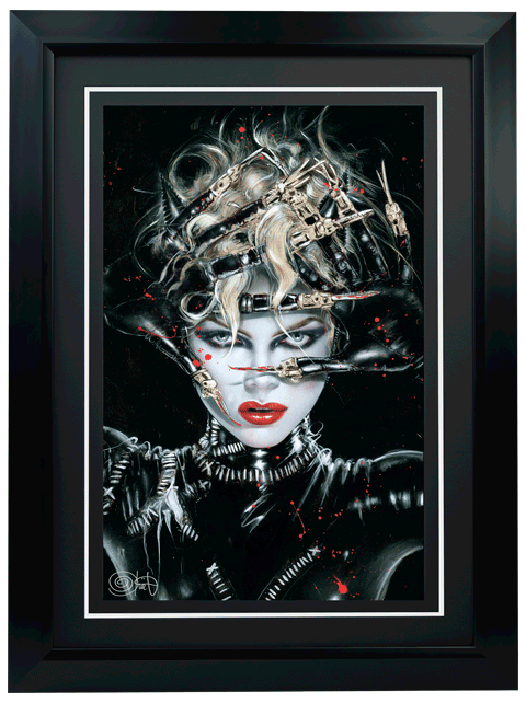 Ozone Productions Chat Noir Art Print