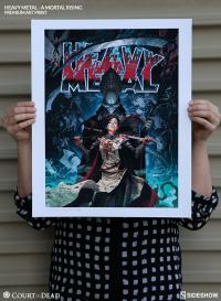 Gallery Image of Heavy Metal A Mortal Rising Art Print