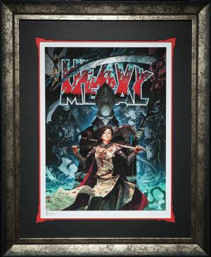 Heavy Metal A Mortal Rising Art Print