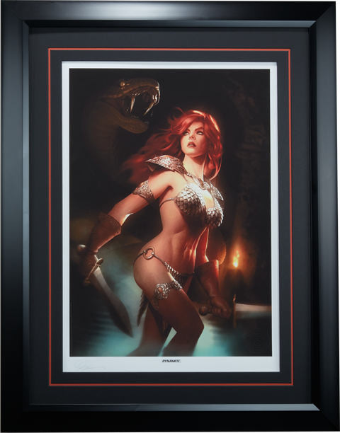 Sideshow Collectibles Red Sonja She-Devil with a Sword Art Print