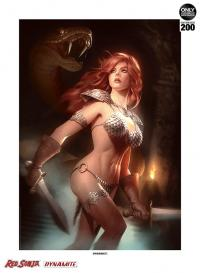 Gallery Image of Red Sonja She-Devil with a Sword Art Print
