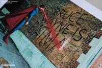 Gallery Image of Graffiti War Superman Art Print