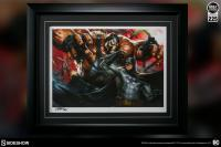 Gallery Image of Batman vs Bane Art Print