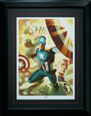 Captain America Legacy Art Print