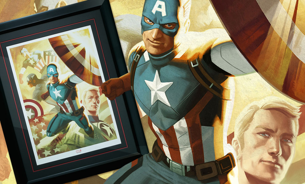 Gallery Feature Image of Captain America Legacy Art Print - Click to open image gallery