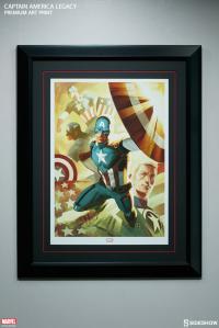 Gallery Image of Captain America Legacy Art Print