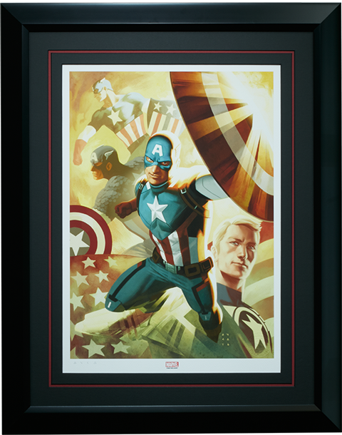 Sideshow Collectibles Captain America Legacy Art Print