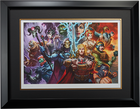 Sideshow Collectibles Masters of the Universe Art Print