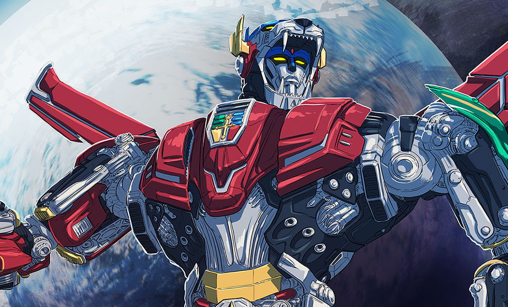 Gallery Feature Image of Voltron Variant Art Print - Click to open image gallery