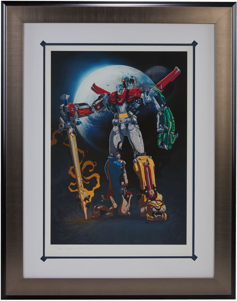 Sideshow Collectibles Voltron Variant Art Print