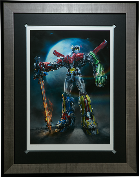 Sideshow Collectibles Voltron Art Print